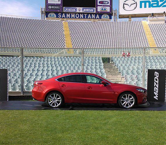 Presentazione Mazda 6 allo Stadio Artemio Franchi, Firenze