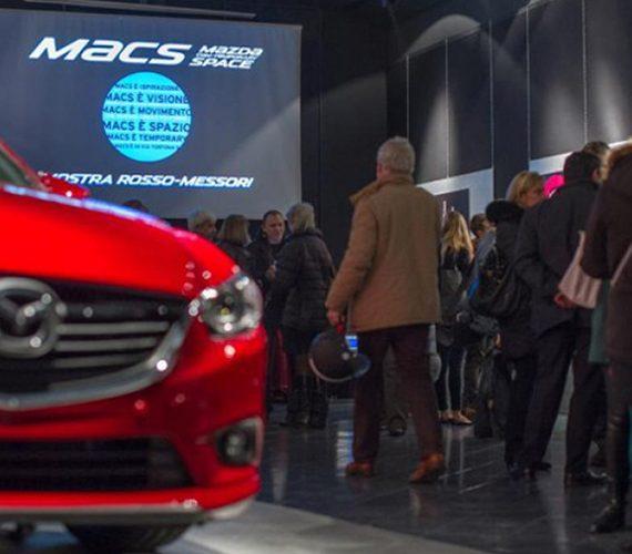 Mazda Contemporary Space a Milano allestito da Frog