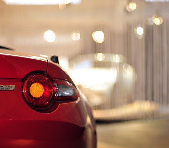 Dettaglio faro posteriore Mazda mx-5