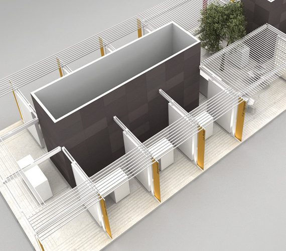 Project design and stand building